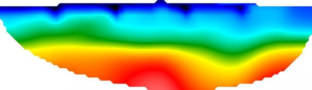 Tomografia sismica 2D.
